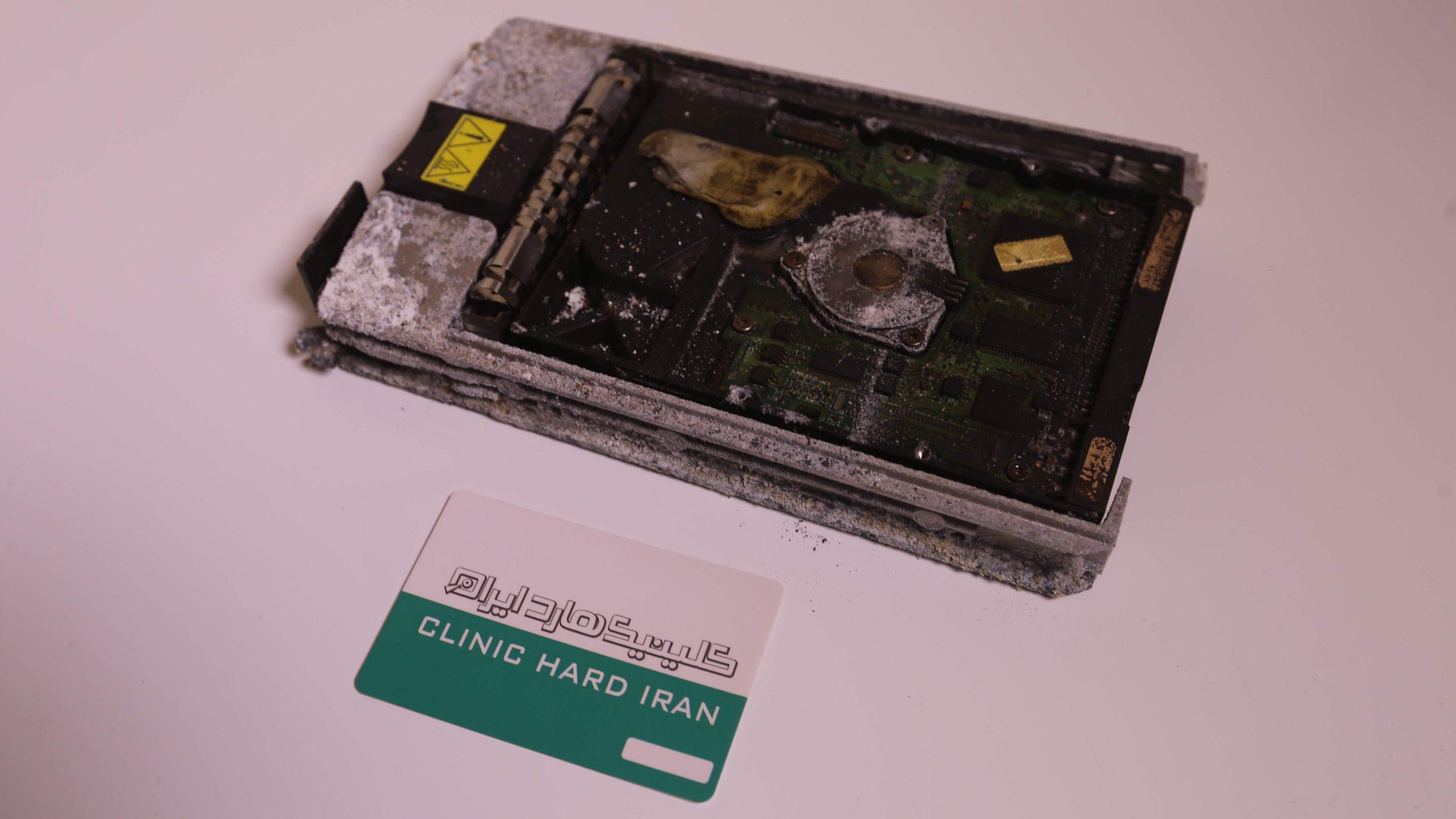 نجات فایلهای حسابداری کارخانه رنگ سوخته